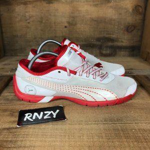 Puma Future Cat Super LT NC White Red Sport Shoes